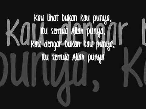 ▶ Iwan Syahman   Semua Allah Punya Lyrics)   YouTube