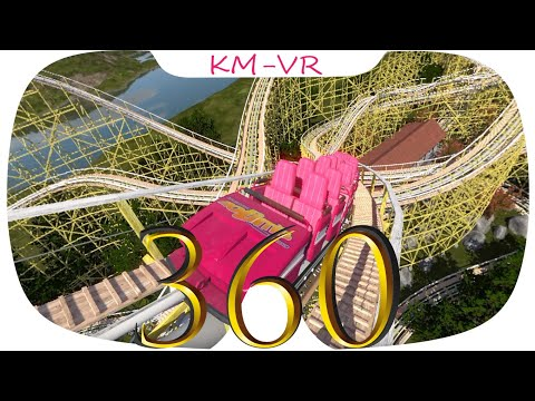360 VR VIDEOS 380 SBS Virtual Reality Video 2k google cardboard roller coaster