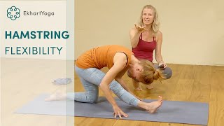 3 Yoga Poses to increase Hamstrings Flexibility