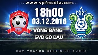 hai phong vs shonan bellmare - btv cup 2016  full