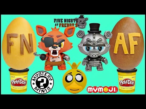 FNAF FIVE NIGHTS AT FREDDY'S EXTRAVAGANZA with Brayden Funko Mystery Minis Hangers Dog Tags and More
