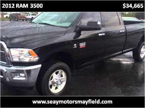 2012 ram 3500 used cars mayfield ky youtube for Seay motors mayfield ky