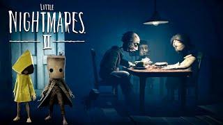 МАЛЕНЬКИЕ КОШМАРЫ 2 Приключение МОНО и ШЕСТОЙ Геймплей игры Little Nightmares II