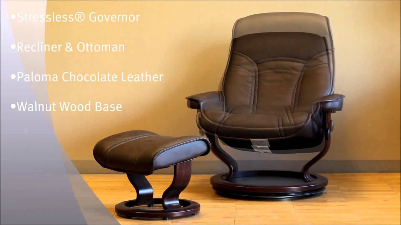 Stressless Governor Large Paloma Chocolate Leather by Ekornes - Stressless Governor Large Paloma Chocolate Leather Chairs Recliners : ekornes stressless governor recliner - islam-shia.org