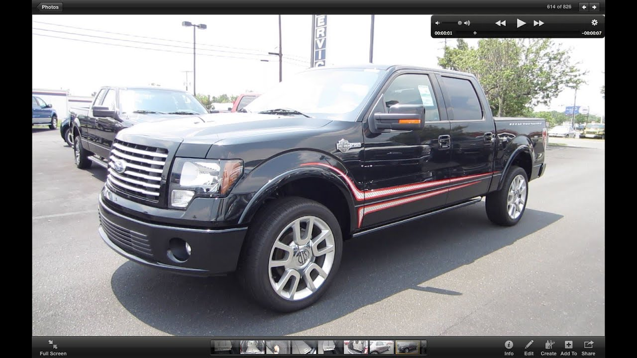 2011 ford f 150 harley davidson 6 2 start up exhaust and in depth tour youtube