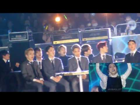 BTS AND EXO REACTING TO BLACKPINK