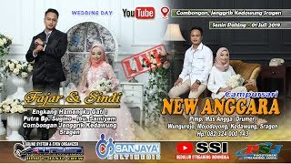 Live Part 2 New ANGGARA //SANJAYA MULTIMEDIA //ARS SOUND JILID 1 //Combongan 01 Juli 2019