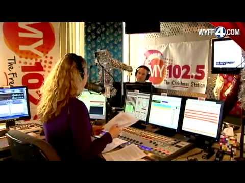 Christmas music debuts on upstate radio station