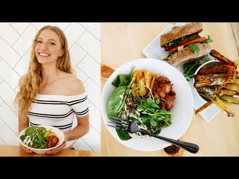 WHAT I EAT IN A DAY VLOG | Vegan Date Night