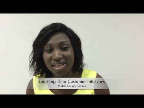 Learning Time Customer Interview: Mabel Sackey, Ghana