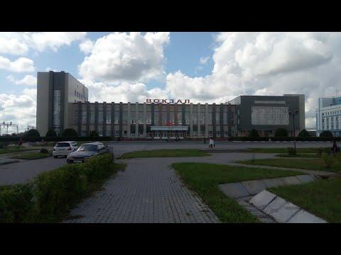 На поезде Барабинск-Новосибирск