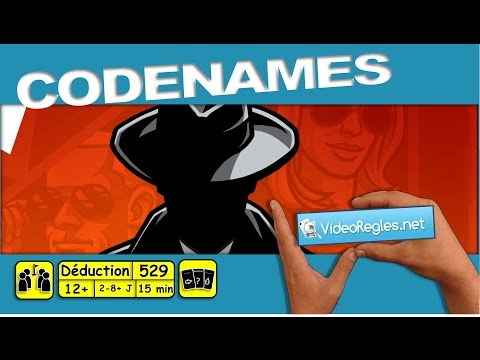 """Vidéorègle jeu de société """" Codenames """" par Yahndrev (#529)(+sub)"""