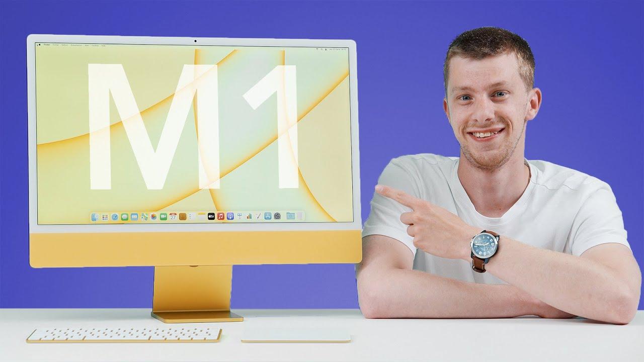 TEST du nouvel iMac M1 d'Apple (2021)