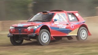 SCREAMING 3 Rotor 20B PP Peugeot 205 Off-Road Buggy Proto in action! WHAT A SOUND