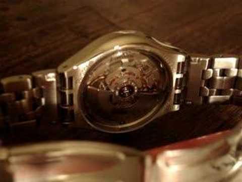 Self-winding watch, part 1