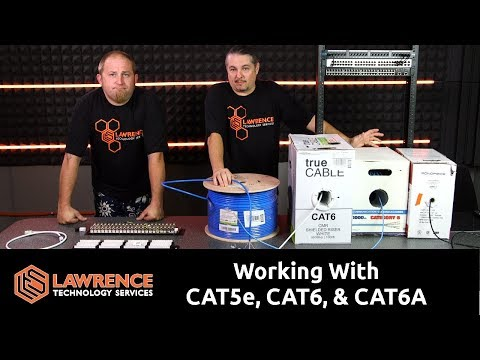 Structured Cabling Discussion: Working With CAT5e, CAT6, CAT6A & Shielded Patch Panels