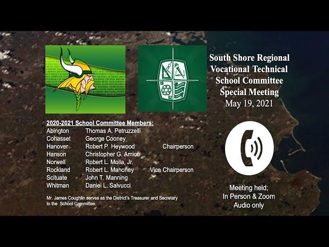 SSVT School Committee; May 19, 2021