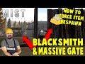 Force Item Respawn & Building Gates And Blacksmith   Mist Survival   S1 E10