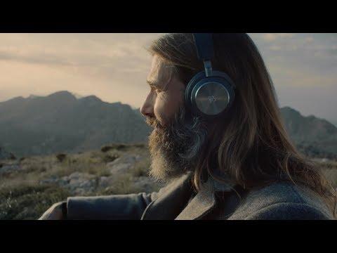 Wireless headphones by Bang & Olufsen