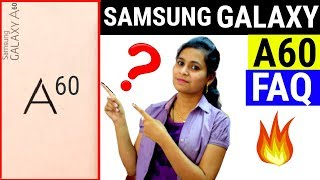 Samsung Galaxy A60 FAQ: Launch Date, Camera, Specifications, Price In India | Samsung Galaxy A60