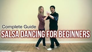 Salsa Dancing for Beginners(Learn to salsa dance for beginners. This walkthrough video will help you learn how to salsa dance and provide you a series of salsa dance lessons that will ..., 2014-01-14T01:00:01.000Z)