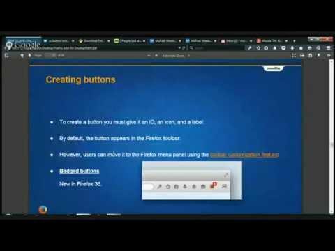Mozilla TN Add-on Dev Session