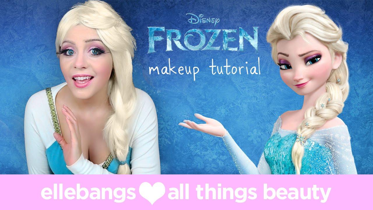 Disney S Frozen Elsas Look Nachschminken Schlaumich De Videos