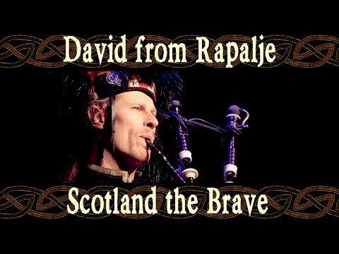 David (Scotland) the Brave on Scottish Bagpipes