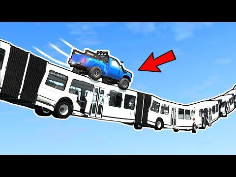 BeamNG | Articulated Bus instead of a Bridge - Is it possible?
