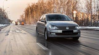 Volkswagen Polo (1.6 AT) POV Test Drive