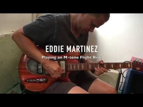 M-tone Guitars  - Flight Risk 8  - Eddie Martinez