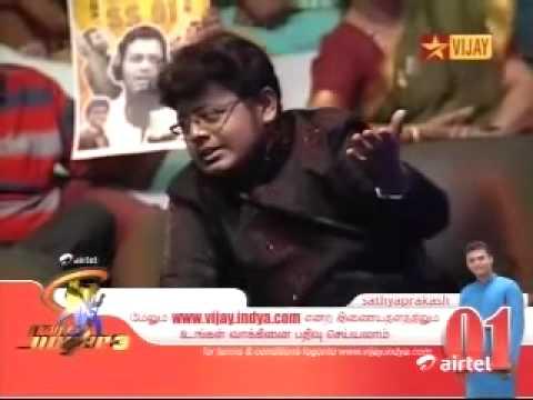 Sathya Prakash singing with Alka Ajith  Udhaya udhaya
