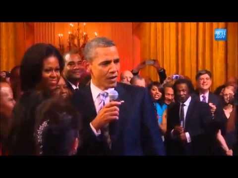 Obama sing somali song