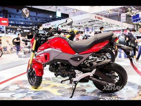 [XEHAY.VN] Cận cảnh Honda MSX 125cc vừa ra mắt giá 50 triệu đồng
