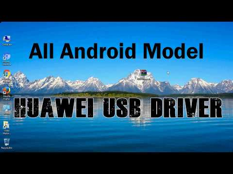 How To Install Huawei USB Driver For Windows   ADB And FastBoot