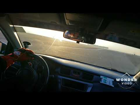 500whp Evo 9 track off at Buttonwillow Raceway