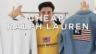How to Get Vintage Ralph Lauren CHEAP