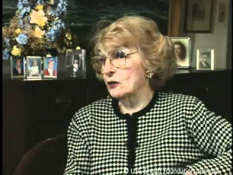 Jewish Survivor Irene Binzer Testimony