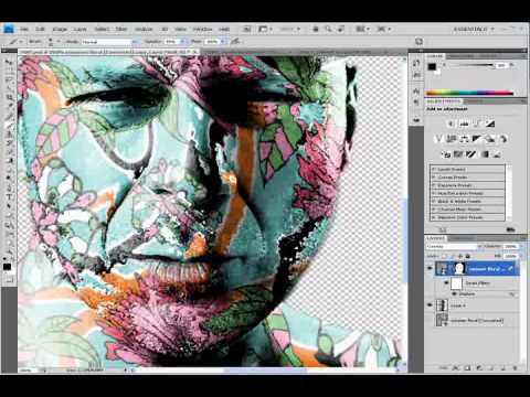 Displacement Map Photoshop Photoshop CS4   Displacement Map Tutorial   YouTube