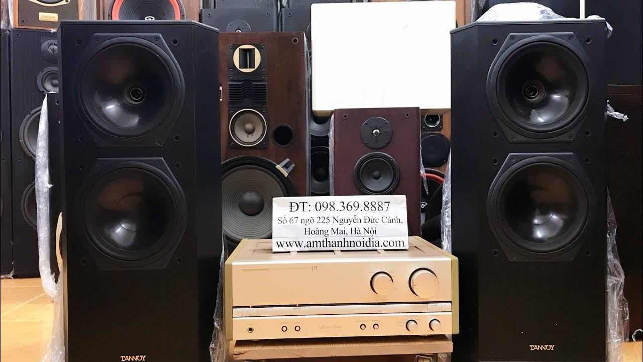 Bộ dàn phổ cập Loa Tannoy tại Việt Nam giá 19,5tr đã có loa tannoy 611 II cùng amly classA marantz