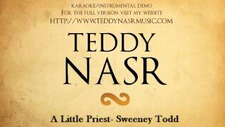 Instrumental / Karaoke - A Little Priest / Sweeney Todd ( Teddy NASR )