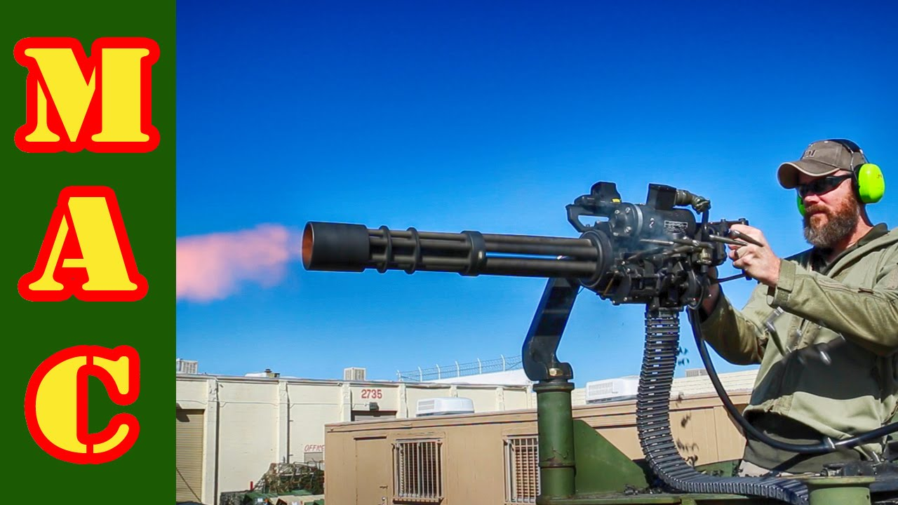 machine gun las vegas