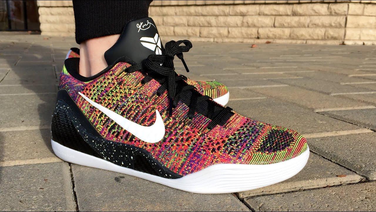 the latest a4f08 352f0 Nike Kobe 9 Flyknit
