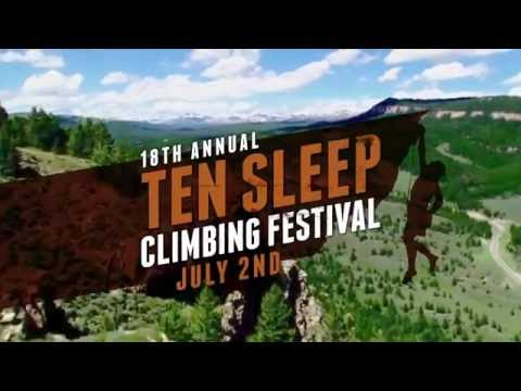 2016 Ten Sleep Wyoming Climbing Festival