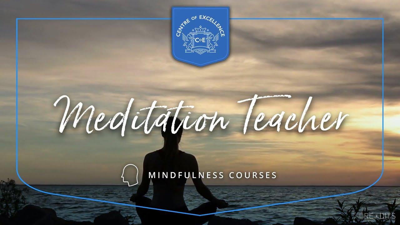 Meditation Teacher Course - YouTube