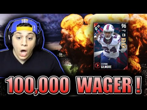 BOB SANDERS IS A MISSILE!! (98 STEPHON GILMORE GAMEPLAY) - MADDEN 17 ULTIMATE TEAM