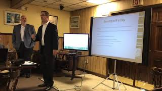 Security presentation on new marijuana business in Dracut