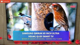 Samsung Q80RAK 65 Inch ultra HD(4K) QLED Smart TV | 65Q80RAK display features | Specifications
