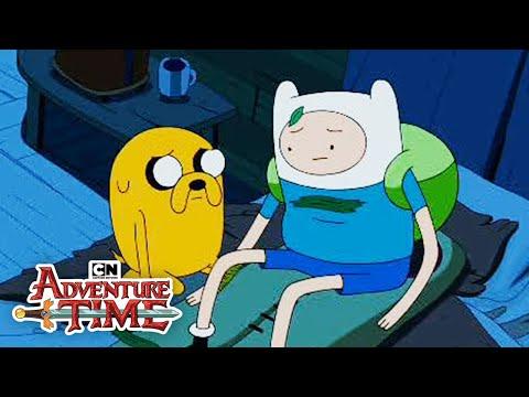 Finn S Human Dad Adventure Time Cartoon Network Youtube
