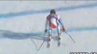 Horrible Ski Crash